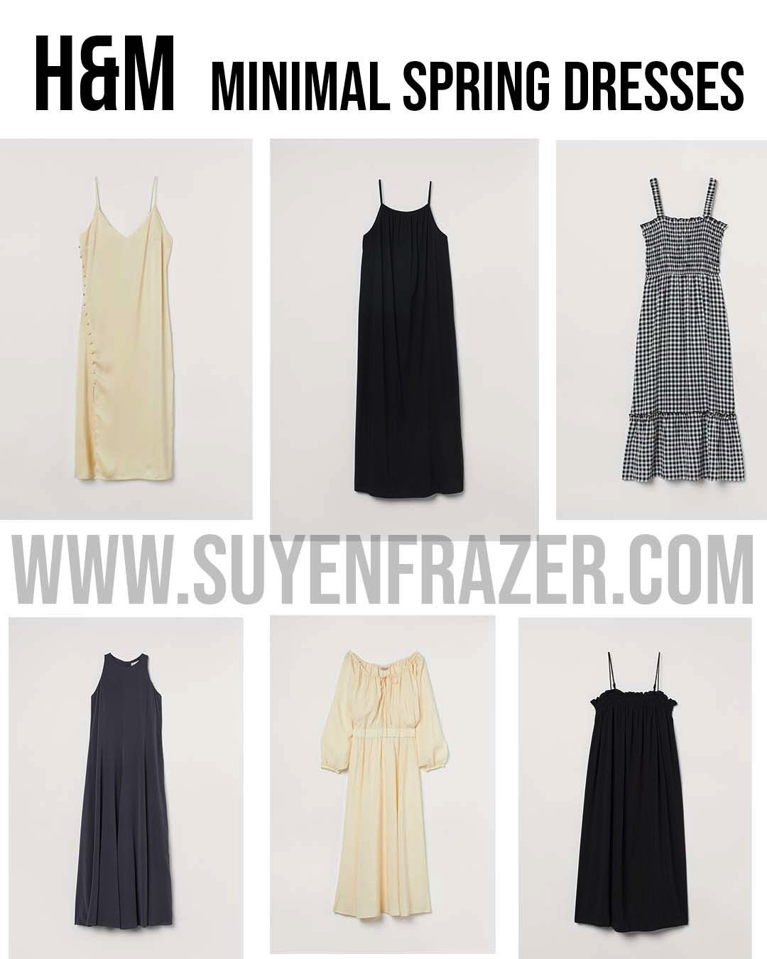 7 MUST-HAVES H&M DRESSES FOR SPRING