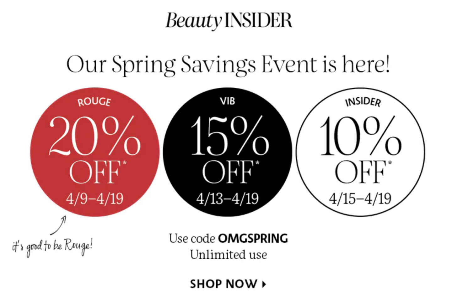 Sephora Spring Savings Event What To Plurge on.