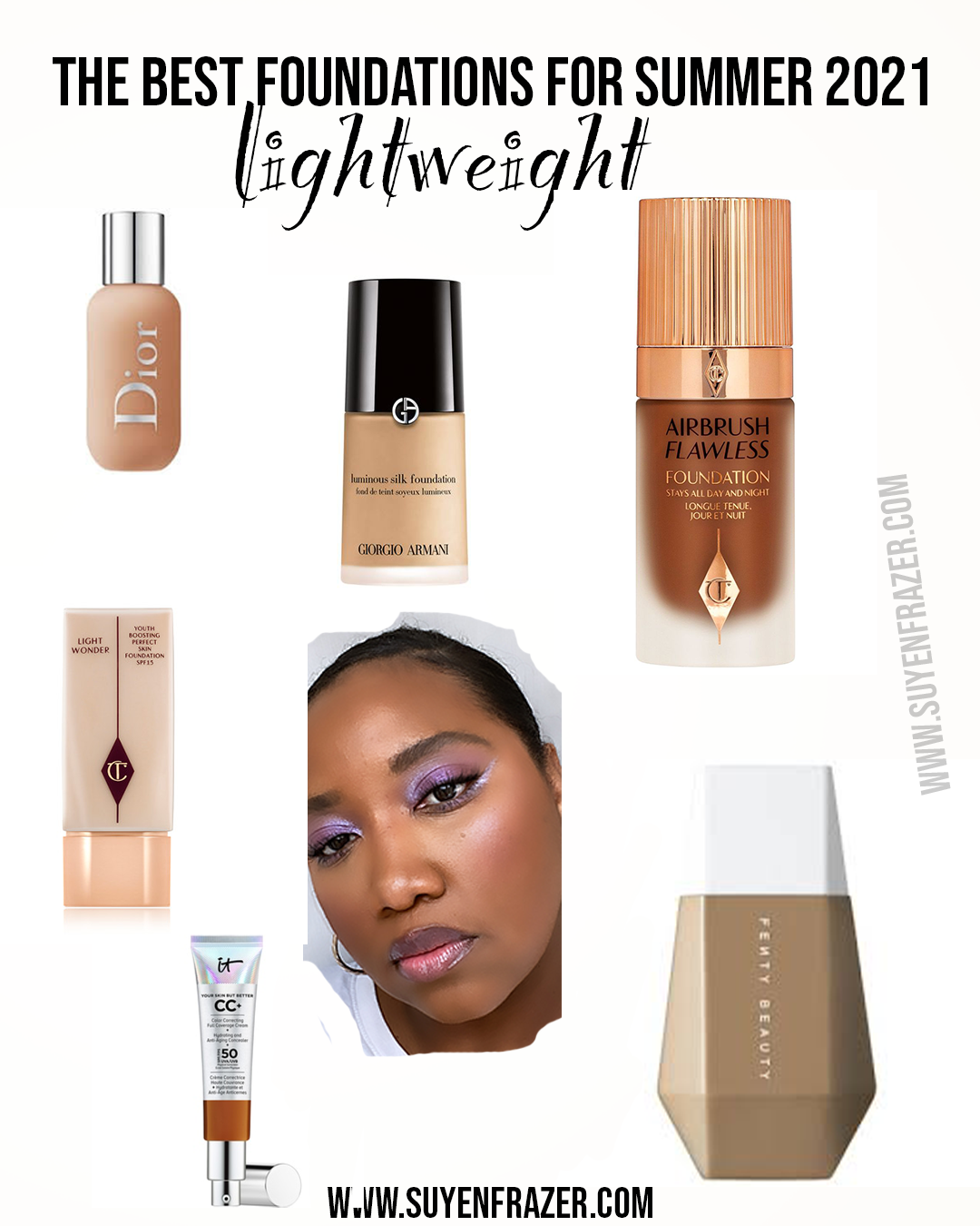 The Best Lightweight Foundations For Summer Of 2021