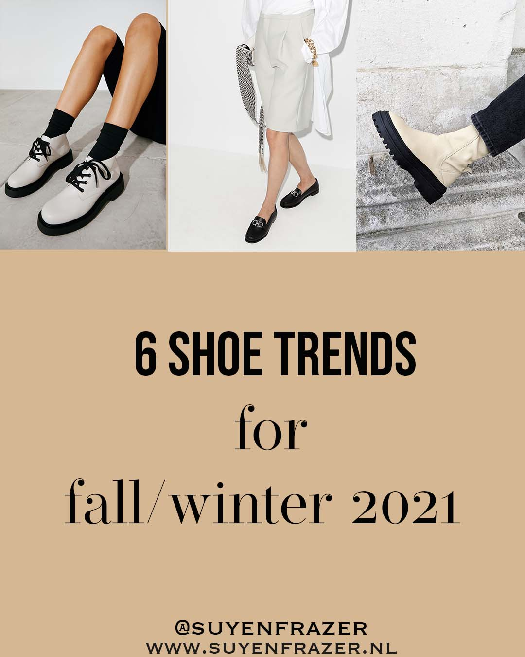 Fall Shoe Trends 2021 That Are Wearable