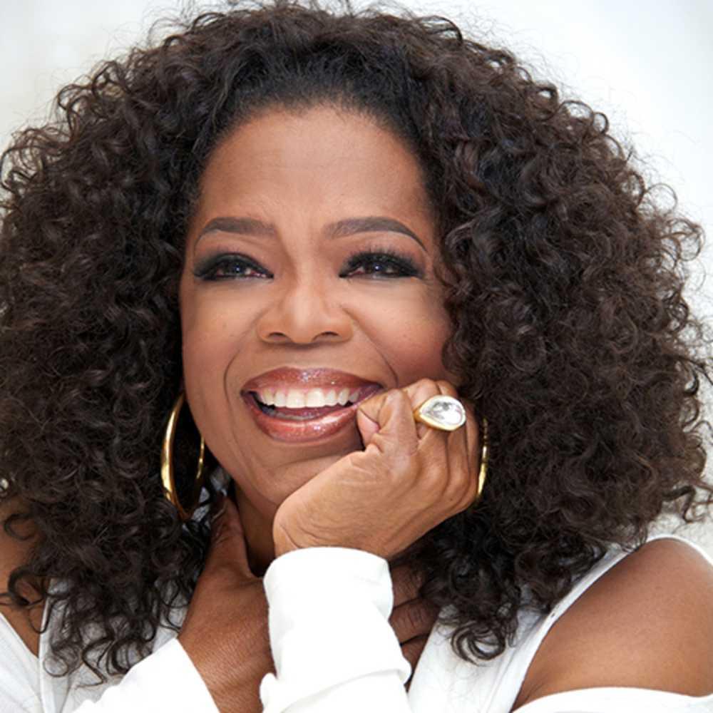 """Oprah Winfrey """" Ik heb eigenlijk maar 3 goede vrienden""""."""